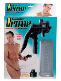 Помпа - массажер с силик вставкой и эспандером