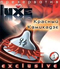 LUXE №1 Презервативы Красный камикадзе