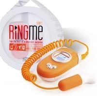 Вибропуля Ring Me, работающая от мобильного телефона (цвет - оранжевый)