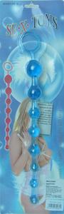 Анальная цепочка (голубая)