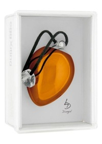 EggXitting Orange Виброяичко (оранжевое) с кристаллом Swarovski