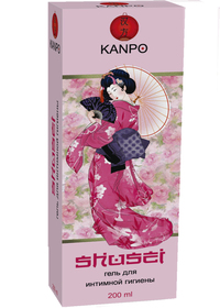 КАНПО (KANPO) shusei гель для интимной гигиены для жен.фл.200мл