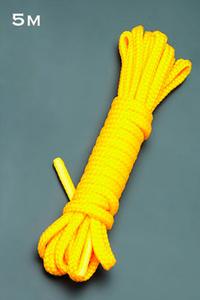 Веревка 5м. (желтый)