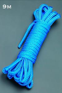 Веревка 9м. (голубой)