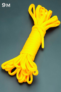 Веревка 9м. (желтый)