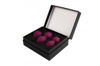 Nova Ball Фиолетовый Вагинальные шарики со смещенным центром тяжести