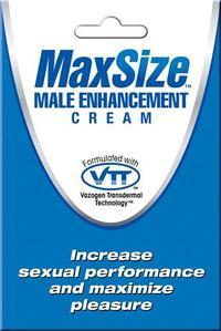 4мл Крем MaxSize для улучшения мужской эрекции