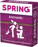 Презервативы SPRING™ Aromantic, 3 шт./уп. (ароматизированные)