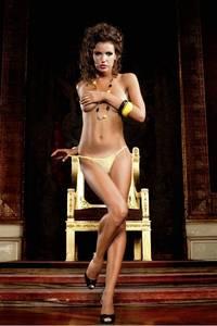 Barbie Трусики женские OS (42-46), желтый
