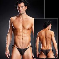Черные мужские side-tie бикини S/M