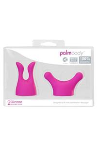 Набор насадок для массажера PalmPower Massager  розовый