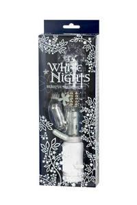 Вибромассажер коллекционный Хай-Тек  White Nights водонепроницаемый