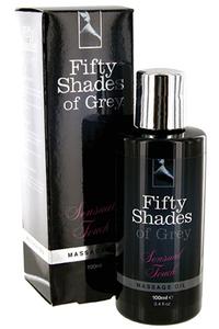 Массажное масло «50 оттенков серого»: Sensual Touch Massage Oil, 100ml