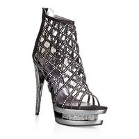 Шикарные туфли с кристаллами GLARE