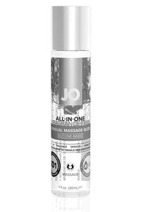 Массажное гель-масло на силиконовой основе JO ALL-IN-ONE MASSAGE GLIDE - FRAGRANCE FREE (SILICONE-BA