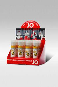 Набор ароматизированных любрикантов JO Flavored Lemon Splash 12х1oz в боксе