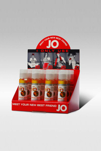 Набор ароматизированных любрикантов JO Flavored Tropical Passion 12х1oz в боксе
