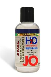 Анальный согревающий любрикант обезболивающий на водной основе JO Anal H2O Warming, (135 мл)
