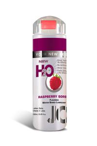Ароматизированный любрикант на водной основе JO Flavored Raspberry Sorbet , 5.25 oz (150 мл)