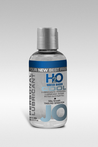 Охлаждающий любрикант на водной основе JO Personal Lubricant H2O COOL, 4.5 oz (135 мл)
