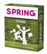 Презервативы SPRING™ Classcic, 3 шт./уп. (классические)