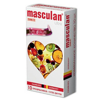 Презервативы Masculan Ultra Type 1 Tutti-Frutti фруктовые 10 шт в уп