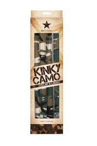 Ошейник с поводком Kinky Camo камуфляж
