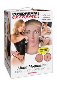 Кукла надувная PDX Dollz - Mona Mountains.