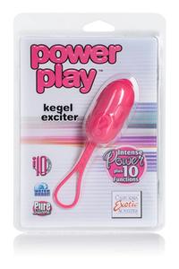 Вибро-яйцо Power play kegel exciter розовое