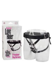 Трусики для крепления фаллоимитаторов Universal Love Rider Harness черные