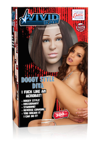 Кукла Vivid Raw Doggy Style Diva Love Doll телесная