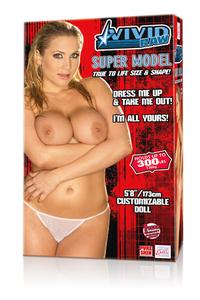 Кукла Vivid Raw Super Model Love Doll телесная