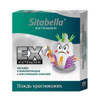 Насадка стимулирующая - презерватив Sitabella Extender Вождь краснокожих 1407